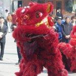 Танец льва и дракона
