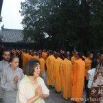 Служба в монастыре Шаолинь